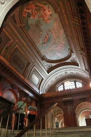 New York Public Library : Upper floor