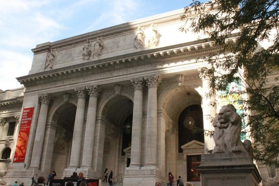 New York Public Library : From the outside