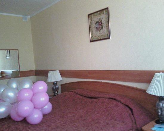 Hotel Molodyozhny: Спальня
