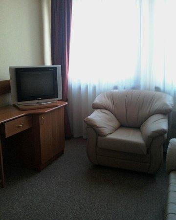 Hotel Molodyozhny: Гостинная