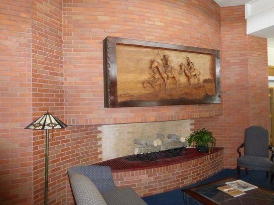 Frank Lloyd Wright Building : Sitting area