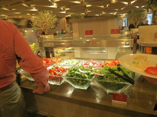 Leonardo Plaza Hotel Tiberias: Veggies