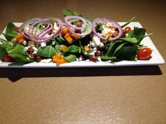 Moose Mulligans: Squash & Spinach Salad