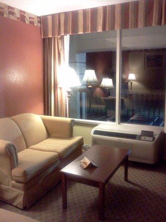 Quality Inn & Suites: heater