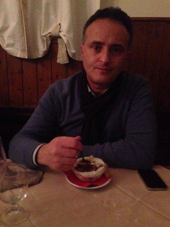 Ristorante Maledetti Toscani: E per dolce , mascarpone e panna..!!