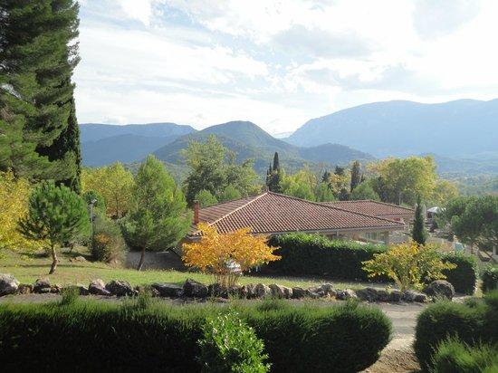 Domaine de L'Espinet : vue depuis le balcon