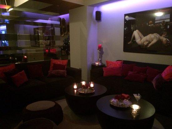 Hotel Taburiente: Бар отеля