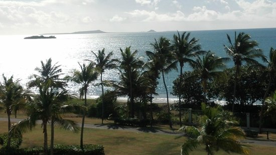 Hilton Ponce Golf & Casino Resort: Our view from the balcony of 582- Hilton Ponce Resort