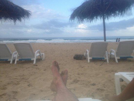 Palmar Beach Lodge: A bit blurry because of the waterproof bag