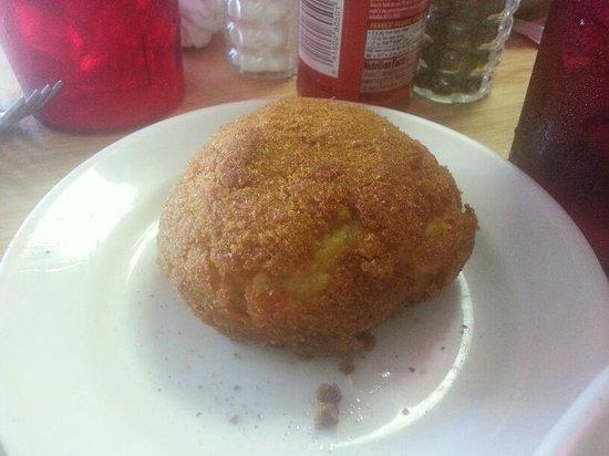 Manolitos Cubans Plus: Cuban Potato Ball