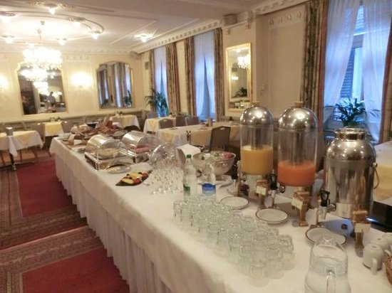 Hotel Wilden Mann: breakfast buffet