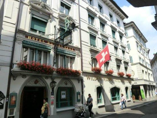 Hotel Wilden Mann: ooutside of hotel