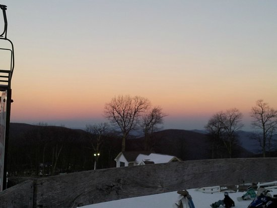 Wintergreen Resort: Sunset