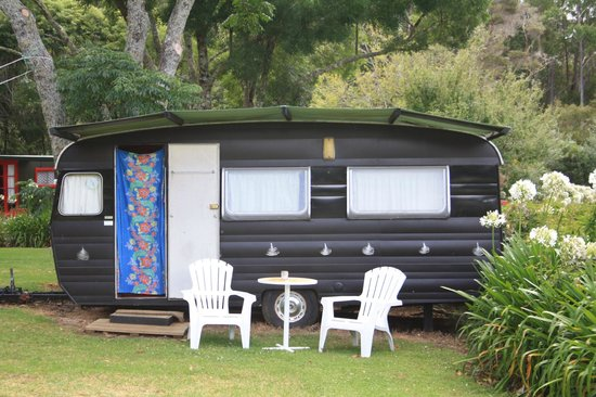 Pagoda Lodge: Silver Ferns Caravan