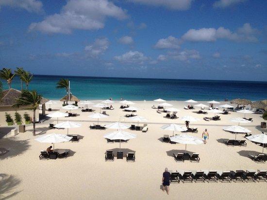 Bucuti & Tara Beach Resort Aruba : View from Tara room balcony