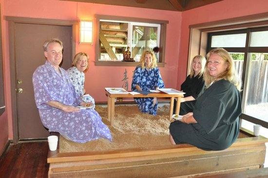 Osmosis Day Spa Sanctuary: Enzyme Foot Bath - a convivial way to enjoy the spa with friends