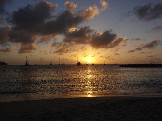 The Landings Resort & Spa St. Lucia: Sunset