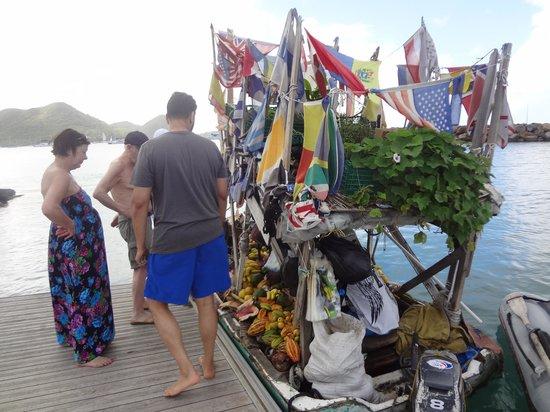 The Landings Resort & Spa St. Lucia: Cuban Refugee Boat
