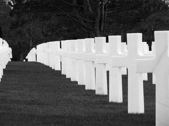 Monumento y Cementerio Estadounidense de Normandía: Those who gave the ultimate sacrifice