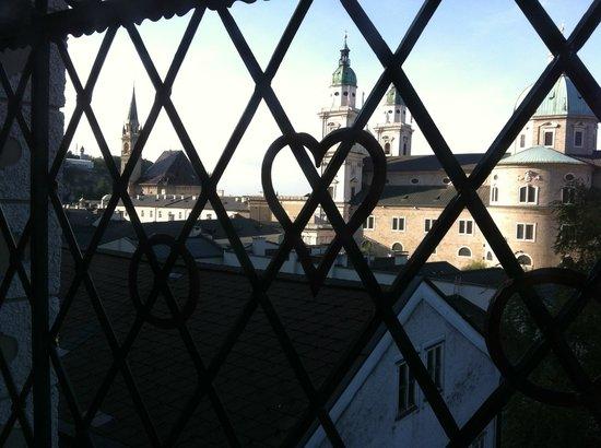 Altstadthotel Kasererbräu: Beautiful view from the castle