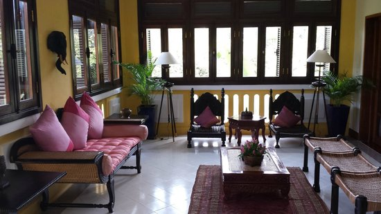 Victoria Angkor Resort & Spa: Living Area