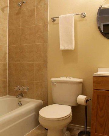 Canton Motel: Great Bathrooms