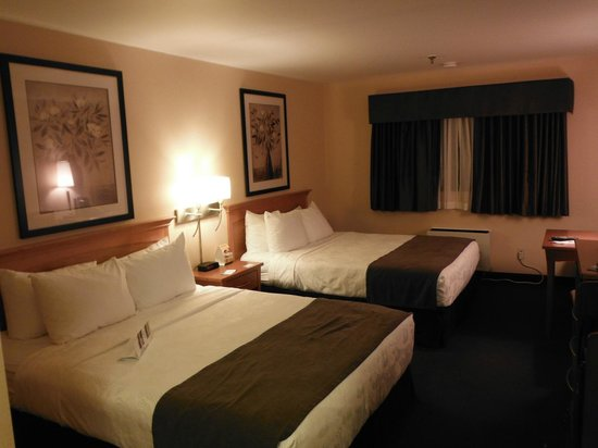 Quality Inn & Suites Hotel: Room and beds