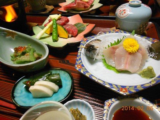 Keiunkaku: 夕食