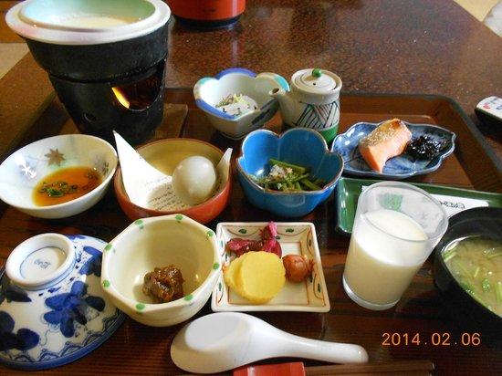 Keiunkaku: 朝食