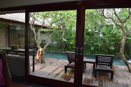 Kayumanis Nusa Dua Private Villa & Spa: Santan Villa - View from living room