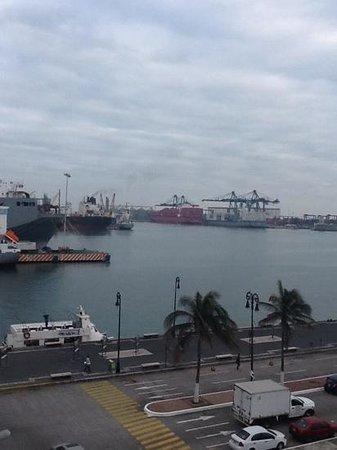 Emporio Veracruz: vista desde habitación en el Hotel Emporio