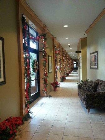 Bonneville Hot Springs Resort & Spa: Hallway to spa area.