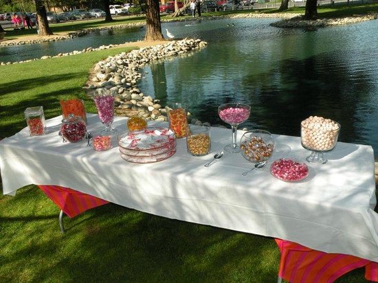 Indoor Wedding Reception Table Setting Picture Of The