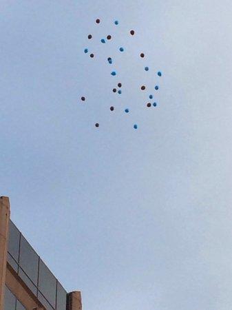 Staybridge Suites San Antonio - Airport : Balloons away!!