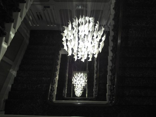 The Met Hotel Leeds: Grand Staircase