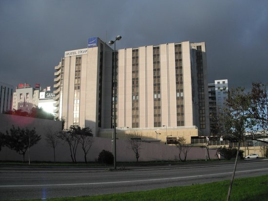 Novotel Lisboa: 外観