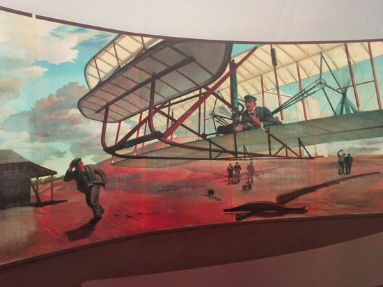 Wright Brothers National Memorial: First Flight