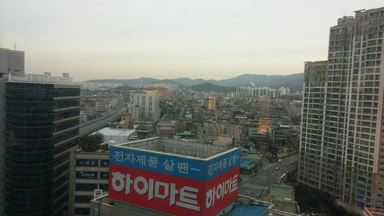 Ramada Plaza Suwon: view from room #1419
