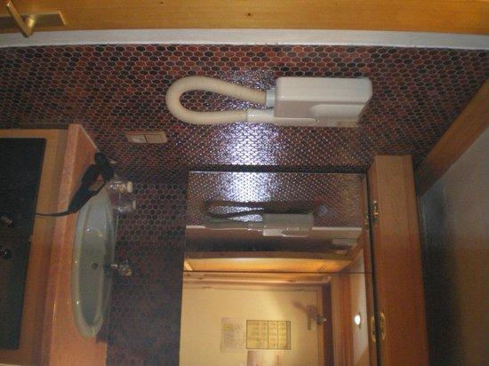 Hotel Anemones : sink & hairdryer