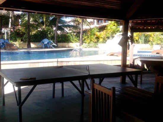 Barra Sol Praia Hotel: vista da piscina/áera de recreação