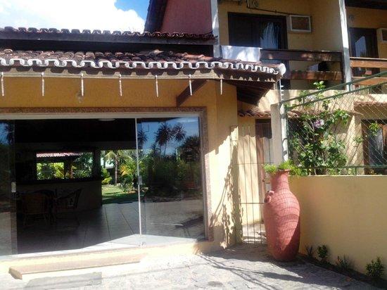 Barra Sol Praia Hotel: vista da entrada