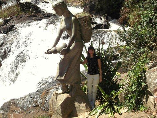 Datanla Falls : Я на водопаде Датанла