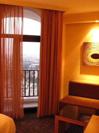 Crowne Plaza Hotel Jerusalem: View from Room