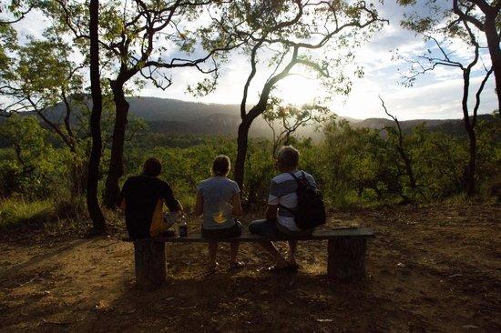 Takarakka Bush Resort & Caravan Park : Enjoying the view, just a short walk from the camp grounds