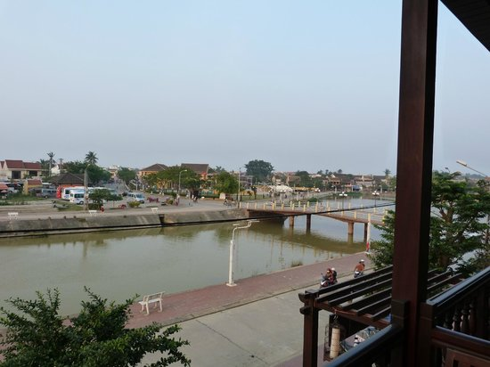 Little Hoian Boutique Hotel & Spa : View from balcony