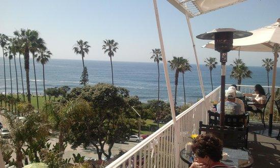 La Jolla Cove : Views from the La Jolla Hotel