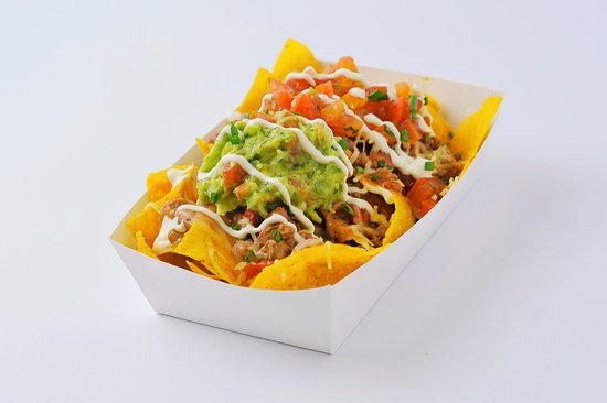 Mexican Eat Bali: This is Mexican Eat version of Nachos Grande. Instant Gratification!