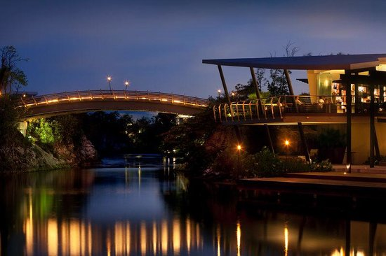 Rosewood Mayakoba: Bridge At Night