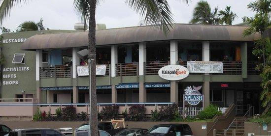 Kalapaki Joe's is on the second floor