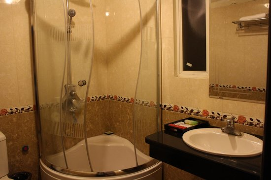 Aquarius Legend Hotel : Bathroom